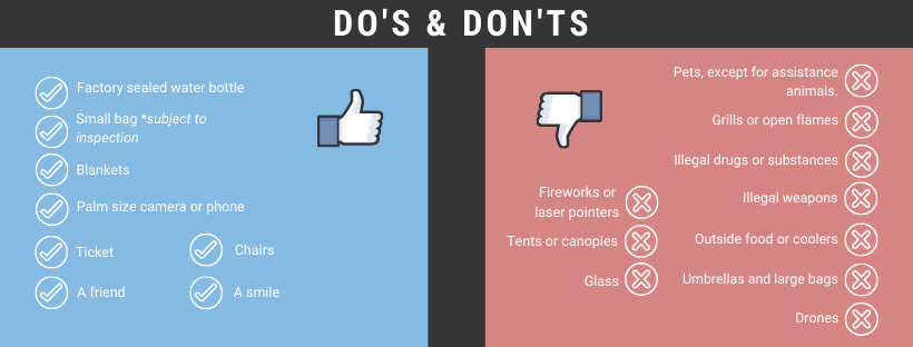 Venue Do's and Dont's